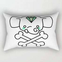 hello malcolm ellie skull Rectangular Pillow