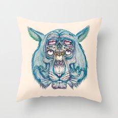 Nemean Lion Throw Pillow