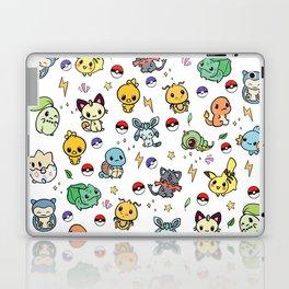 Chibi Kawaii poke characters Laptop & iPad Skin