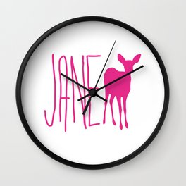 Life is Strange Jane Doe Wall Clock