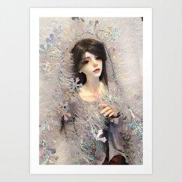 Kallias - Winter Doll Art Print