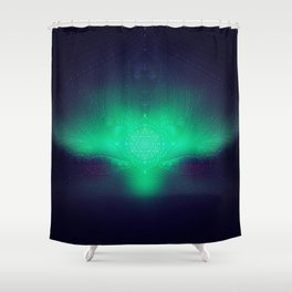 dreaming gate Shower Curtain