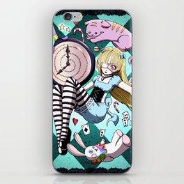 Falling Alice iPhone Skin