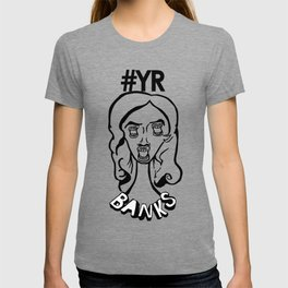 YUNG RAPUNXEL (Azealia Banks) Re-animated T-shirt