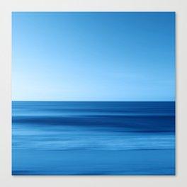 SeascapeBlue - horizon Canvas Print