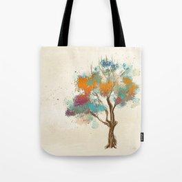 Colorful Tree Tote Bag