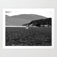 Lone Sailor Art Print