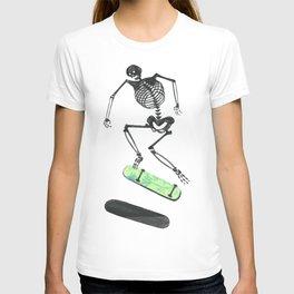 Skeleton Skater T-shirt