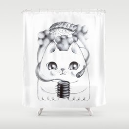 Sushi Frenzy Shower Curtain