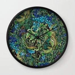 Immersive Pattern Wall Clock