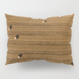Hay Rows Overhead Pillow Sham