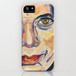 Fille Du Feu iPhone Case