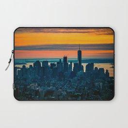 sunset in New York Laptop Sleeve