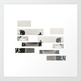 S P Y Art Print