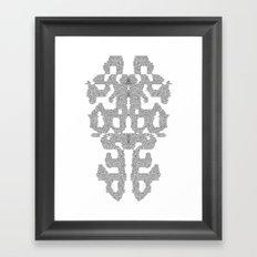 Nerves Framed Art Print