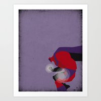 magneto Art Prints featuring My Magneto by Osvaldo Casanova