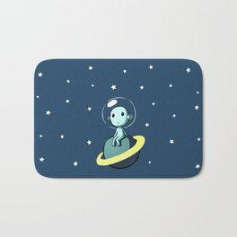Space Alien Bath Mat