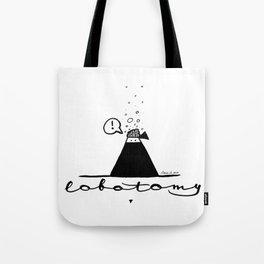Lobotomy of a ninja Tote Bag