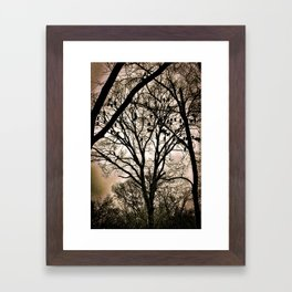 The Wake Framed Art Print