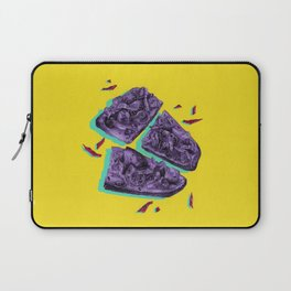 Favourite Food - Yellow by Chrissy Curtin Laptop Sleeve
