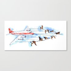 Air Canada Goose Canvas Print