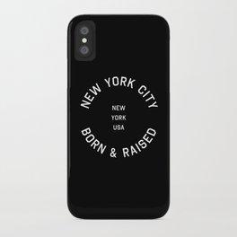 New York City - NY, USA (Badge) iPhone Case