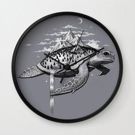Adventure Turtle Wall Clock