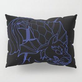 Monstrous Zodiacs: Pisces, the Shachihoko Pillow Sham