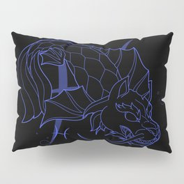Monstrous Zodiacs: Pisces, the Shachihoko Pillow Sham