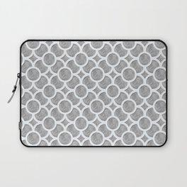 Grey Geometric Laptop Sleeve