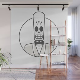 Grim Fandango - Manny Calavera Wall Mural