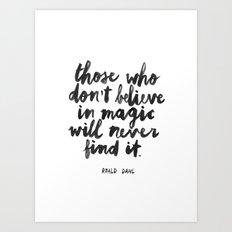 Magic Art Print