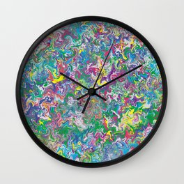 Memories of Delight Marble Wall Clock