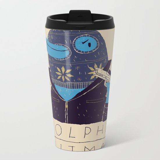 dolphin hitman. Metal Travel Mug