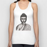 buddha Tank Tops featuring BUDDHA by Vanya