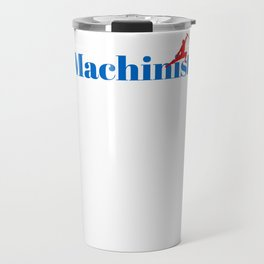 Machinist Ninja in Action Travel Mug