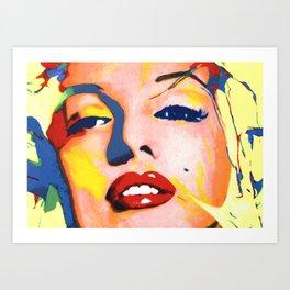 Pop Marilyn Art Print