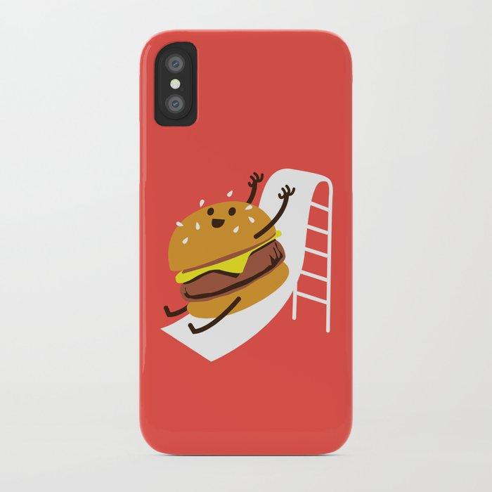 Slider Burger iPhone Case