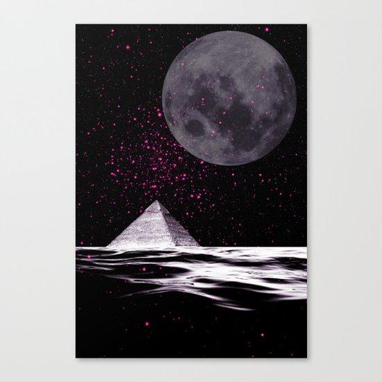PINK UFO Canvas Print
