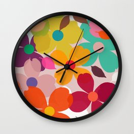dogwood 11 Wall Clock