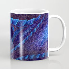 Blue Dragon's Eye Coffee Mug
