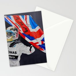 """Lewis Hamilton """"Champion of the World"""" Stationery Cards"""