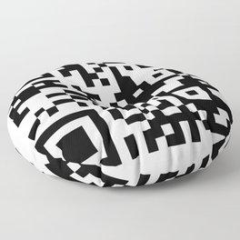 QR CODE Floor Pillow