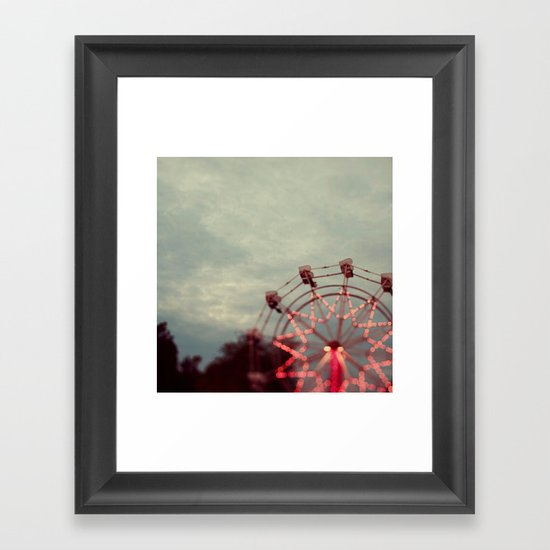 Treetop View Framed Art Print