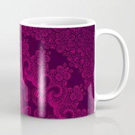 Mandala Magenta Coffee Mug