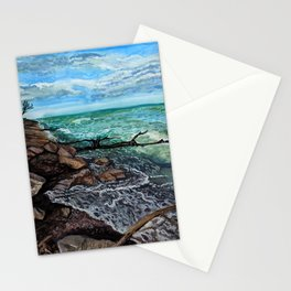 Point Pelee Waves Stationery Cards