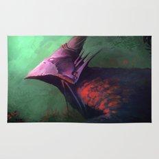 Ancient bird Rug