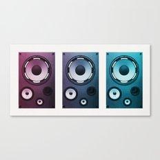 Stereo Sound Canvas Print