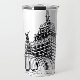Palacio de Bellas Artes con Torre Latino Travel Mug