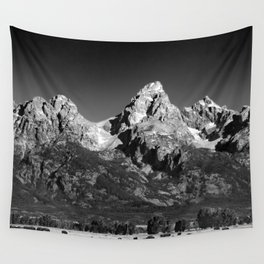 Grant Teton National Park - Mountains Wall Tapestry